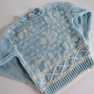 Vintage Justin Allen sweater size large